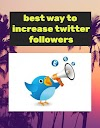 best way to increase twitter followers