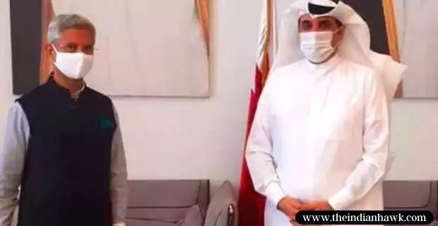 S Jaishankar Meets Qatar NSA on Way to Kuwait - The Indian Hawk