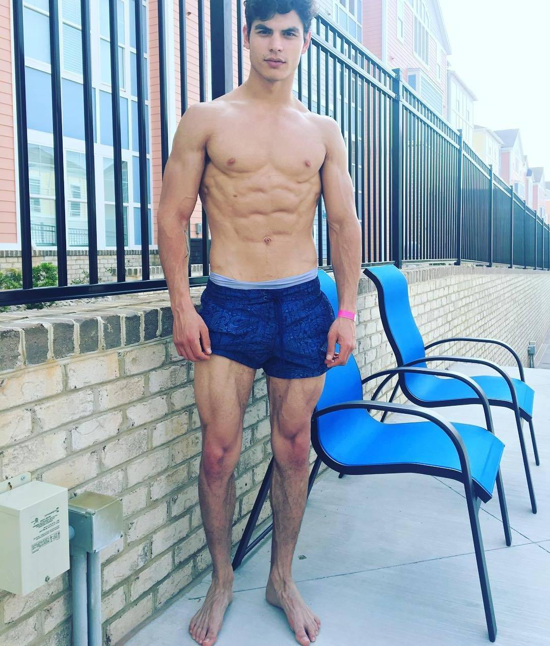 hot-fit-muscular-young-shirtless-guys-blue-shorts