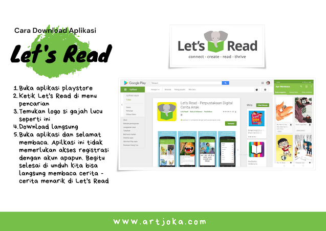Download aplikasi Let's Read