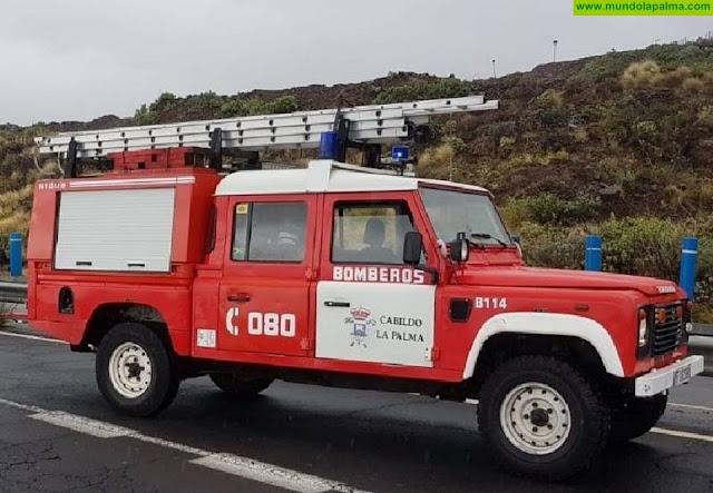 Los Bomberos de La Palma recuperan sus líneas de teléfono 080 y 922 429 074