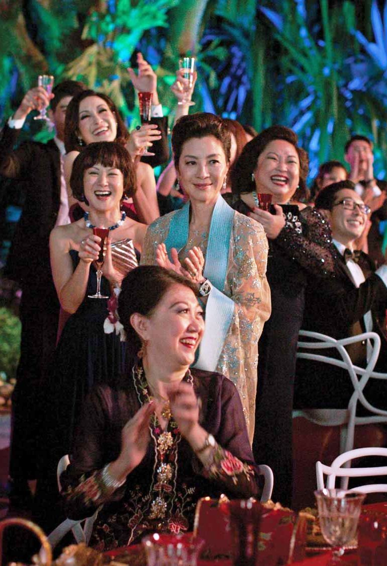 The Crazy Rich Asians saga is set in a milieu that was never explored in fiction until the first book was published in 2013.