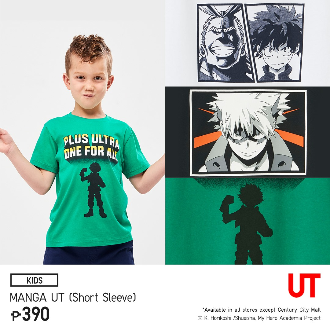 8aa2a93de The new Uniqlo Manga UT Collection offers design for kids, men and women.  This makes it available for everyone. However, it seems like the design for  kids ...