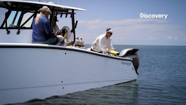 他們出動ROV去搜索海底的狀況
