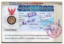 Thailand Visa Documents