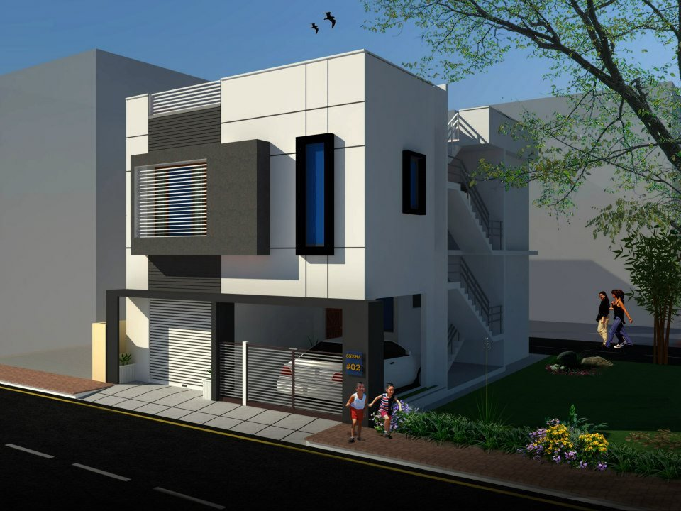 Front Elevation Of 240 Yards House : Inspiring and mind blowing designs of houses kerala