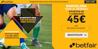 betfair supercuota Barcelona gana a Granada 21 septiembre 2019