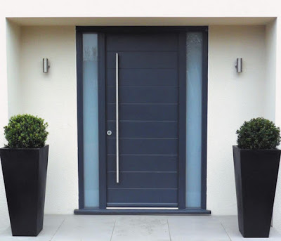 Model Pintu Utama Rumah Minimalis Cantik