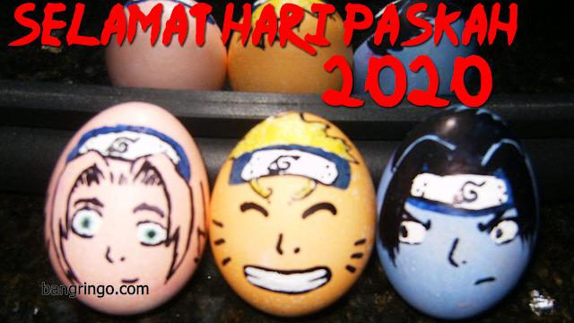 Selamat Hari Paskah 2020 - Naruto Version