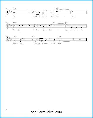 Rose Room ( In Sunny Roseland ) 2 chords jazz standar