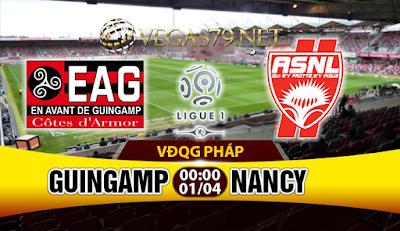 Nhận định - Soi kèo Guingamp vs Nancy