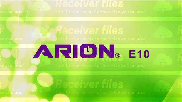 ARION E10 1506TV 4M SGB1 V11.04.07 NEW SOFTWARE 08-05-2021