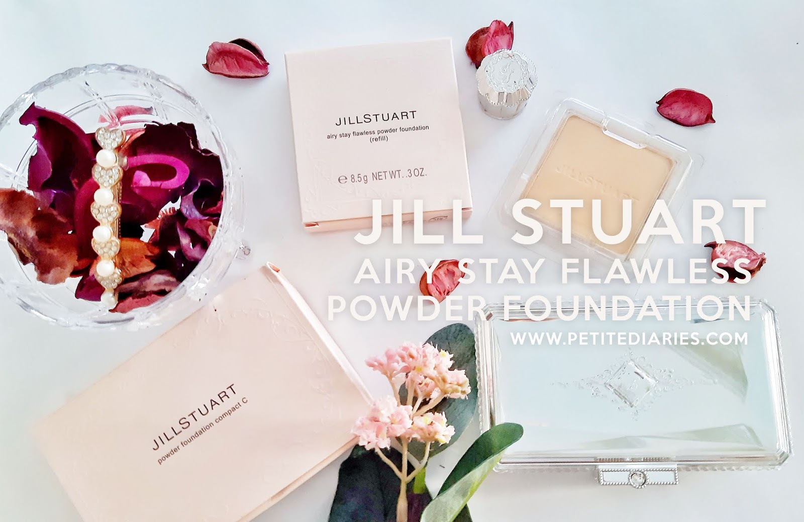 jill stuart airy stay flawless powder foundation review