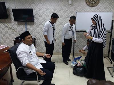 58 Pejabat Pemda Dites Urine, Ini Hasilnya