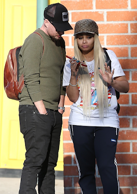 Blac Chyna spotted with her rumoured new boo...and he