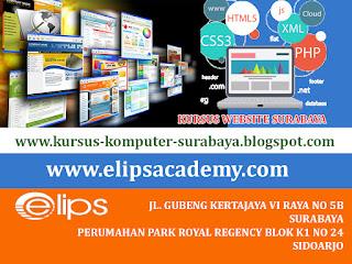 KURSUS DESAIN WEB SURABAYA | ELIPS ACADEMY COMPUTER