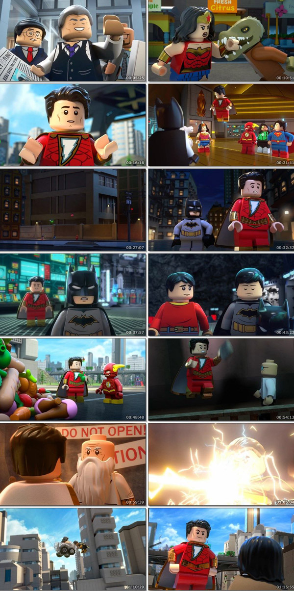 Download LEGO DC Shazam  Magic and Monsters 2020 English 720p WEB-DL 800MB movie