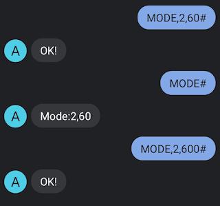AT2 mini gps tracker mode