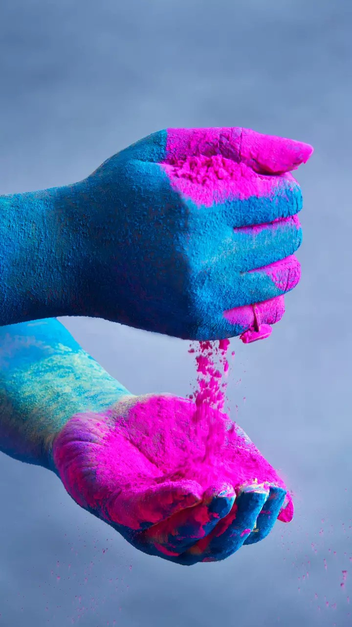 Holi colours mobile wallpaper