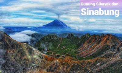Pendakian Gunung Sibayak dan Sinabung