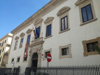 La sede del Museo Archeologico Regionale A. Salinas