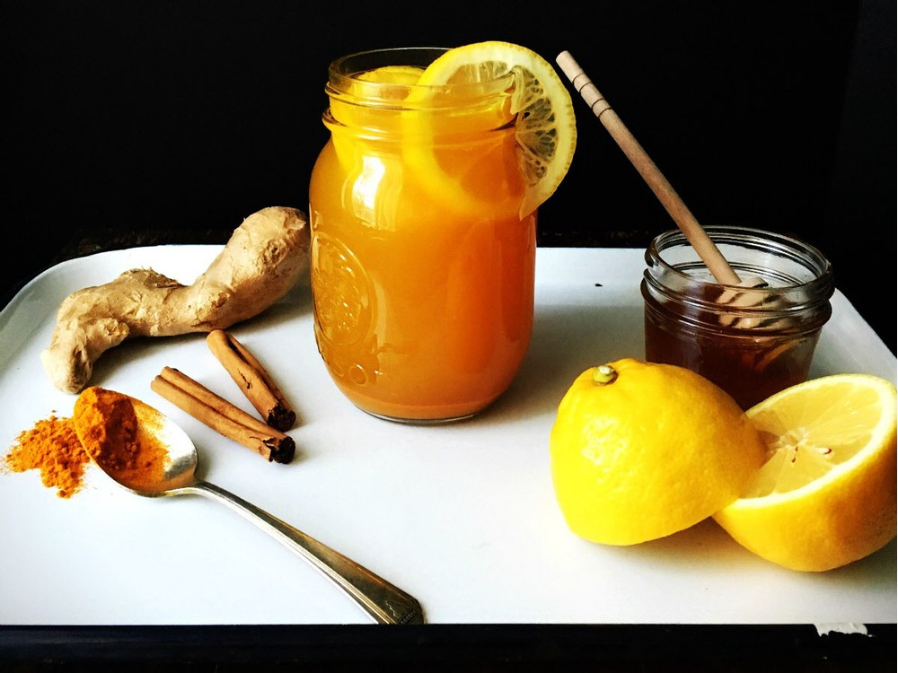 tumeric ginger lemonade tea