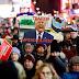 Miles de personas piden el juicio político de Trump en Times Square