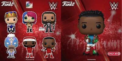 WWE Pop! Vinyl Figures by Funko