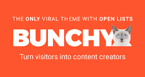 Bunchy is a true content sharing platform with lots of great features
