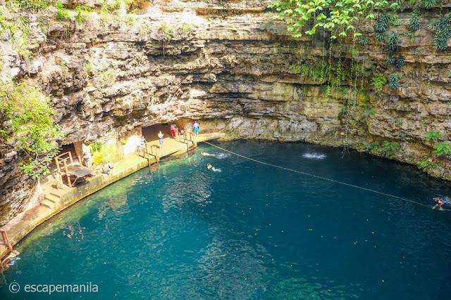 Cenote in Mexico