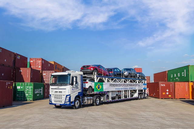 Hyundai Creta brasileiro começa a ser exportado para Argentina