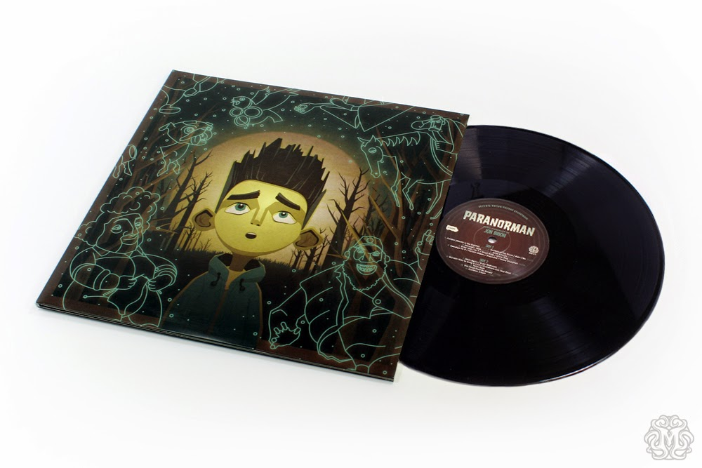ParaNorman Soundtrack Vinyl Record by Mondo with Cover Artwork by DKNG
