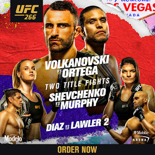 UFC 266 Live Stream Online : How to Watch  UFC 266 online in United Status of America