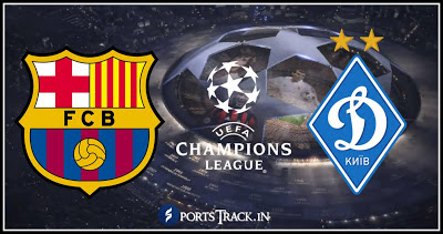 Download Barcelona Vs Dynamo Kyiv Live Match