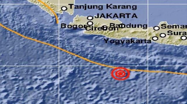 Pangandaran Diguncang Gempa 5 SR, Tidak Berpotensi Tsunami