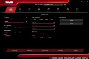 Menggunakan Software OSD dari Pabrikan