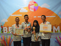 Tim Jurnalistik MAN IC OKI Juara di Citizen Journalism Tingkat Nasional