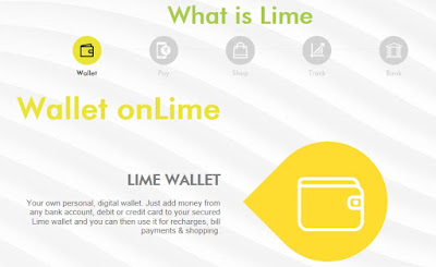 lime wallet by Axis bank