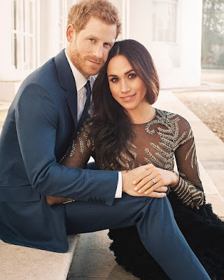 Prince Harry And Meghan Releases Official Engagement Portrait