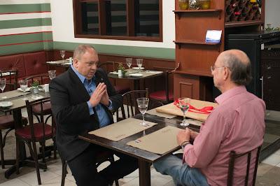Jacquin conversa com o proprietário Antônio Carlos Cirelli. Crédito: Carlos Reinis/Band