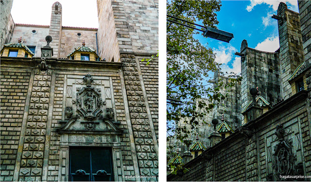 Igreja da Virgem de Belém, nas Ramblas de Barcelona