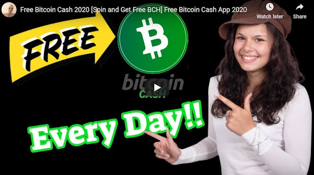 Free Bitcoin Cash 2020 [Spin and Get Free BCH] Free Bitcoin Cash App 2020