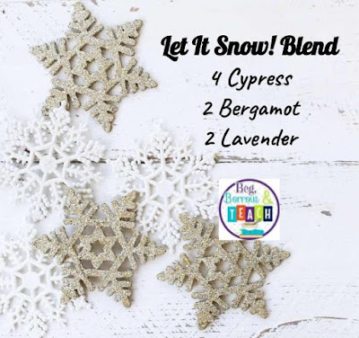 Let It Snow! Essential Oil Diffuser Blend