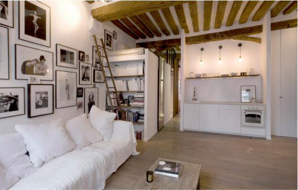 Piccolo appartamento di charme blog di arredamento e for Arredare piccolo appartamento