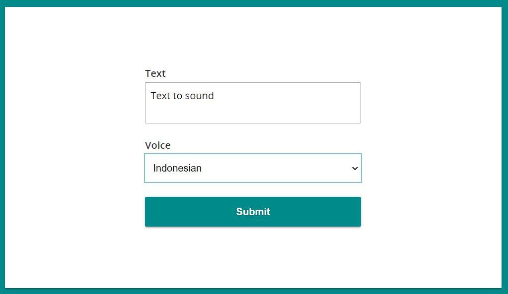 cara bikin suara google dengan soundoftext