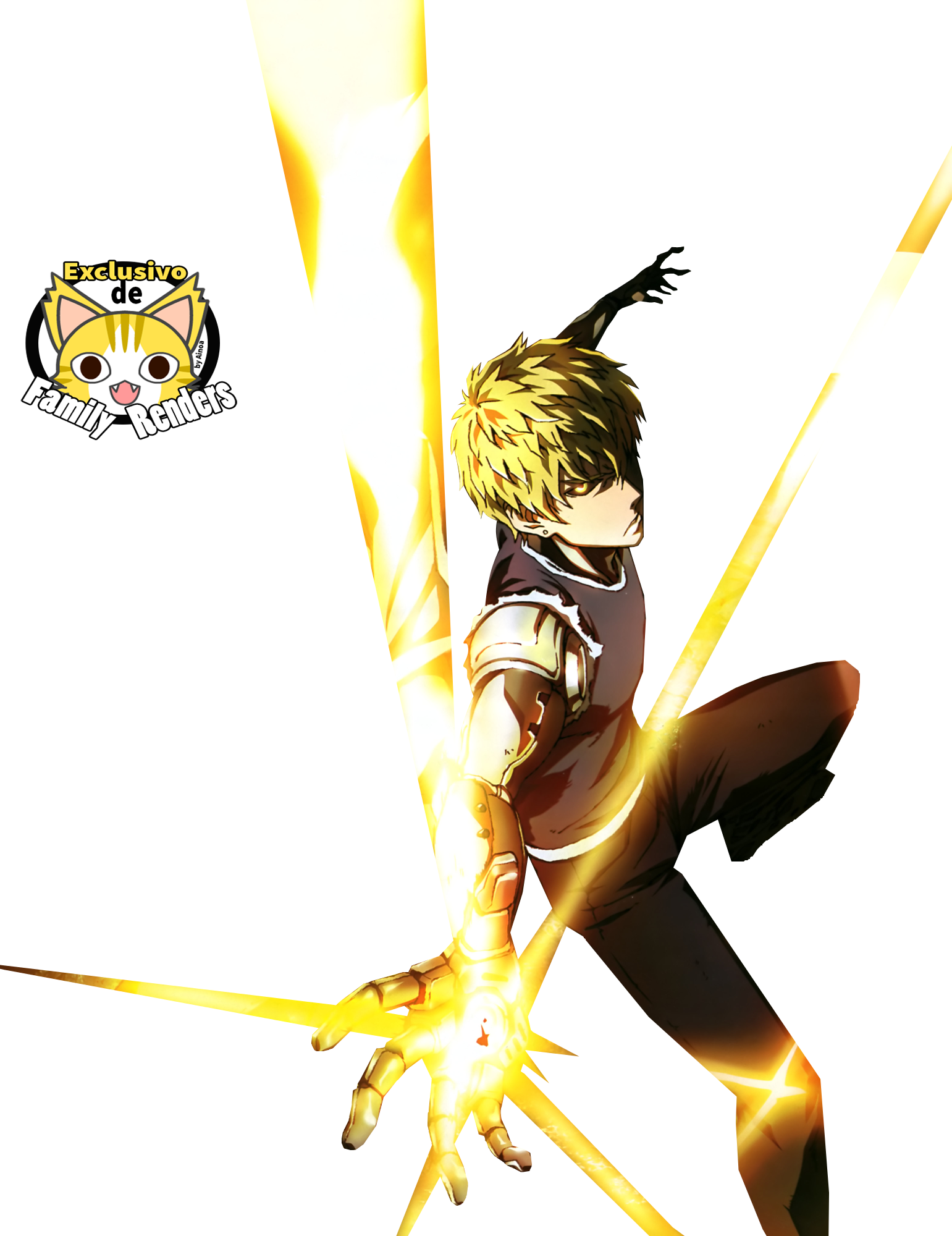 Render Genos + One Punch Man