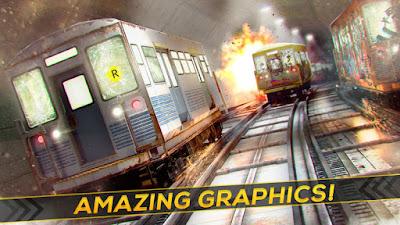 Driving Metro Train 3D Game