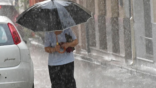 Μεμονωμένες καταιγίδες αναμένονται σήμερα στην Πελοπόννησο