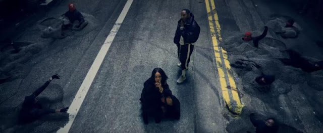 Kendrick Lamar and Rihanna Music Video