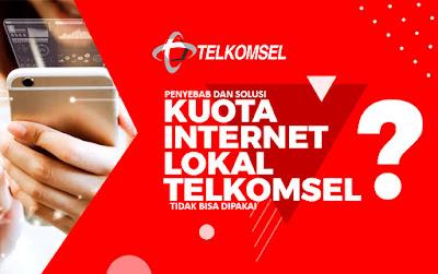 Mengatasi permasalahan tidak bisa menggunakan kuota lokal telkomsel di daerah lain